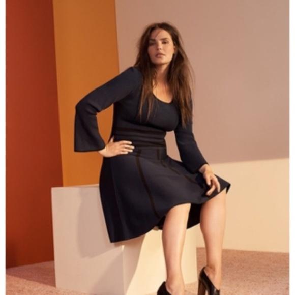 Dresses Fit And Flare Designer Plus Size Dress Poshmark